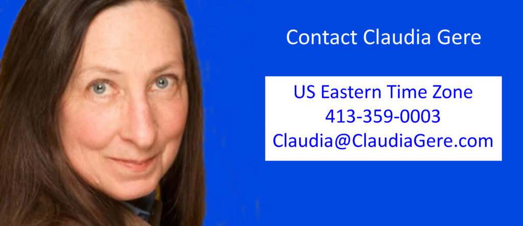 Claudia Gere contact info